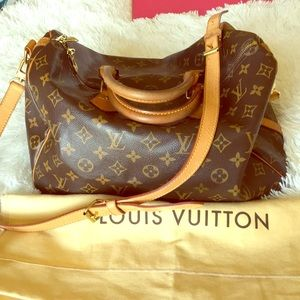 Authentic LV Speedy bandouliere 35